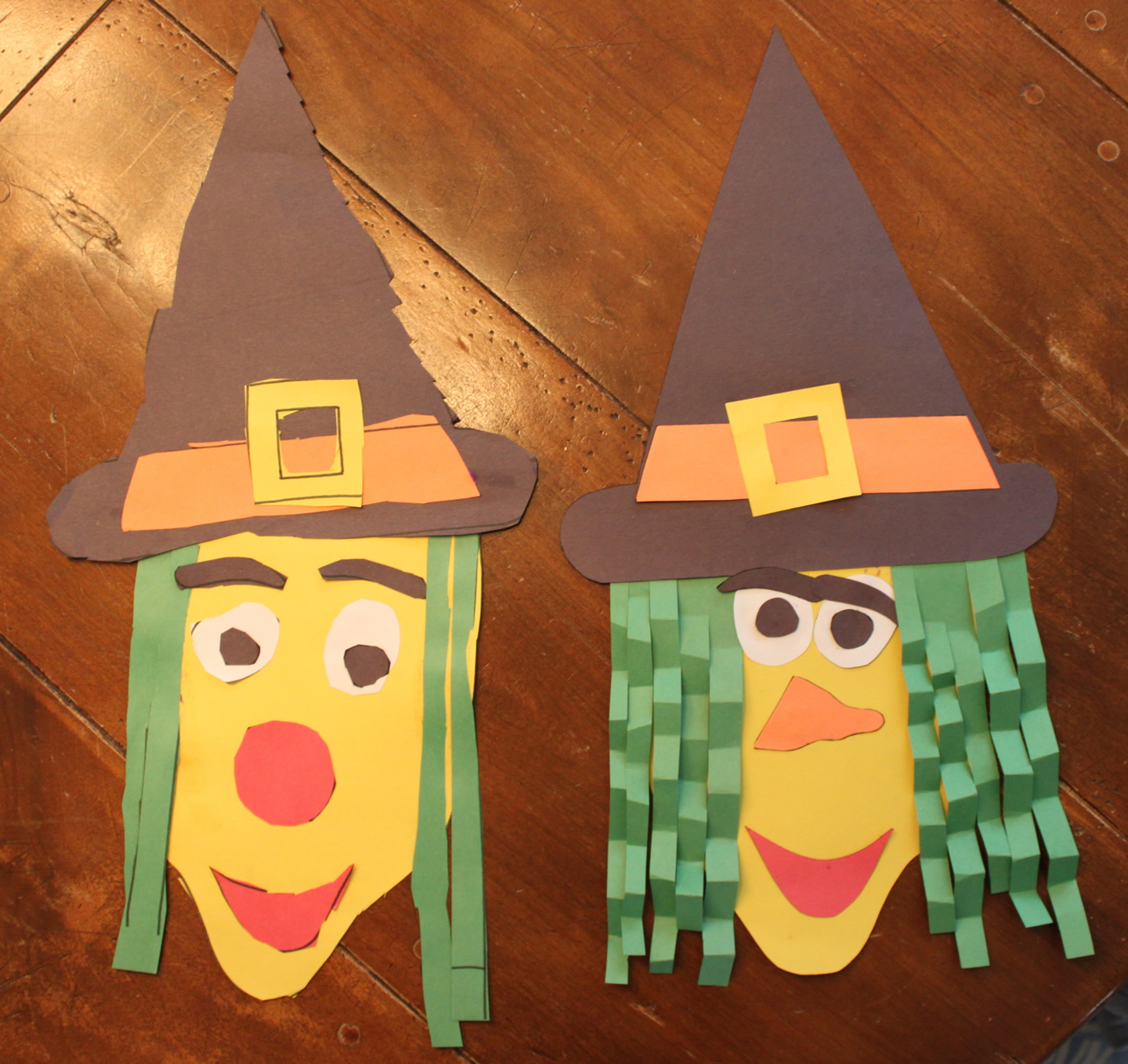 Construction Paper Halloween Witch Kidlist Activities For Kids