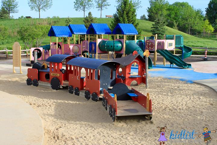 ty warner park sand area