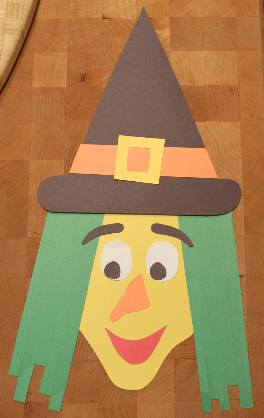 halloween paper craft ideas construction paper witch kidlist activities 4617