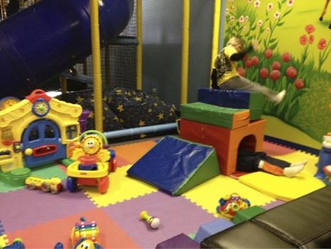 kidstown toddler area