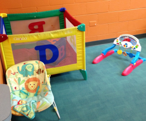 playbox infant area