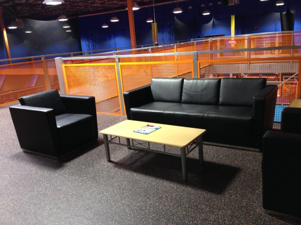 sky zone couches