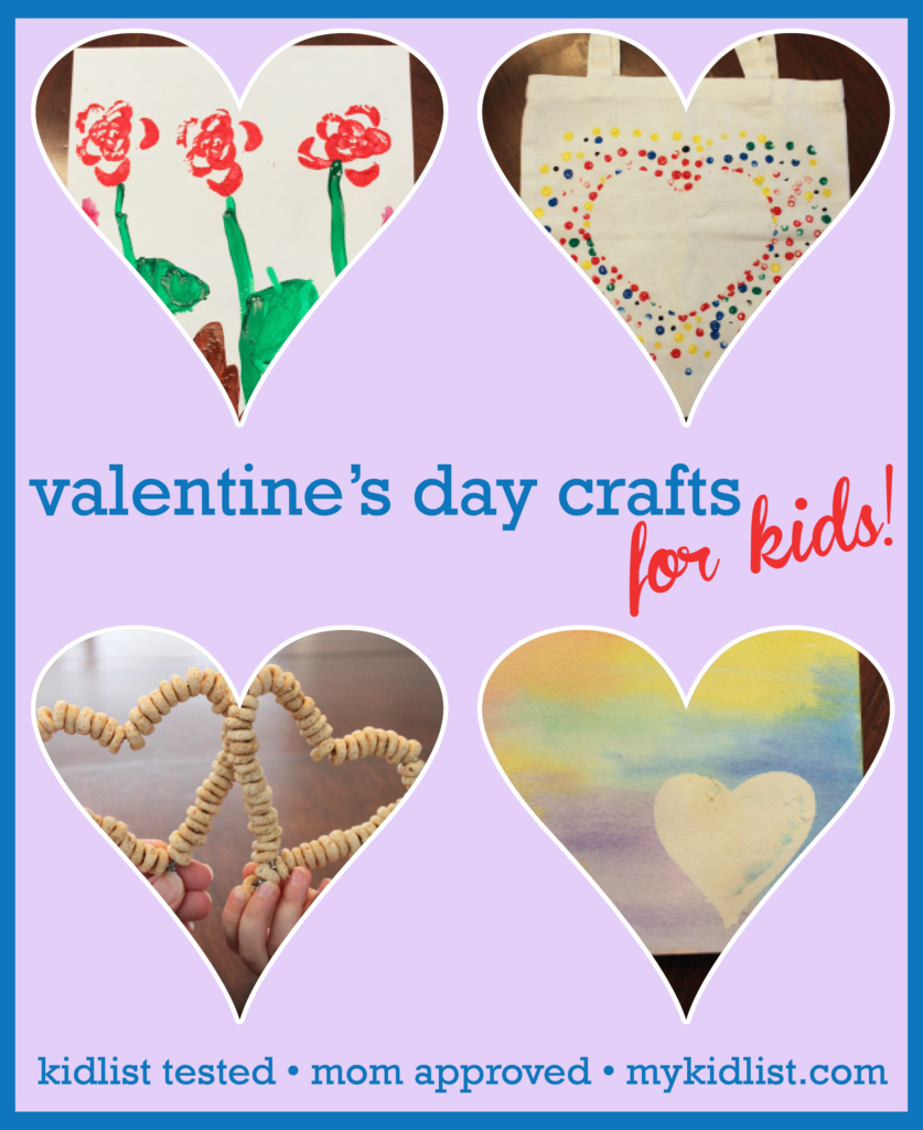 kidlist valentines crafts