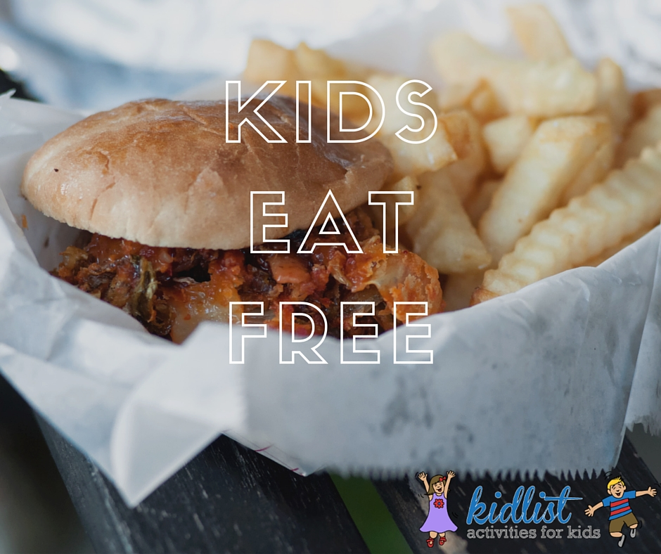 Kids Eat Free In The South Suburbs