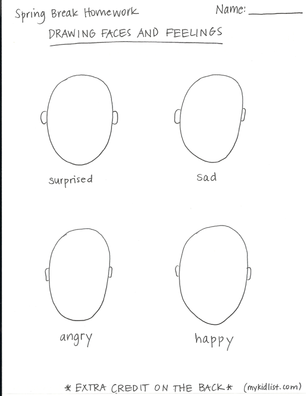 faces and feelings