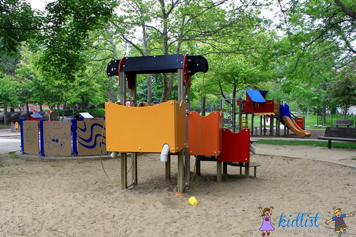rehm park sand area