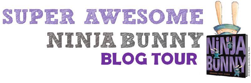 Ninja Bunny Blog Tour Banner