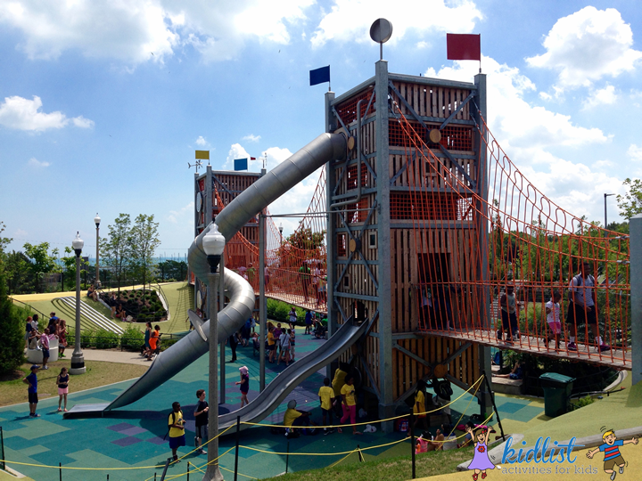 maggie daley park play structure