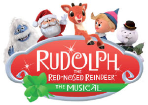 rudolph the red-nosed reindeer the musical logo