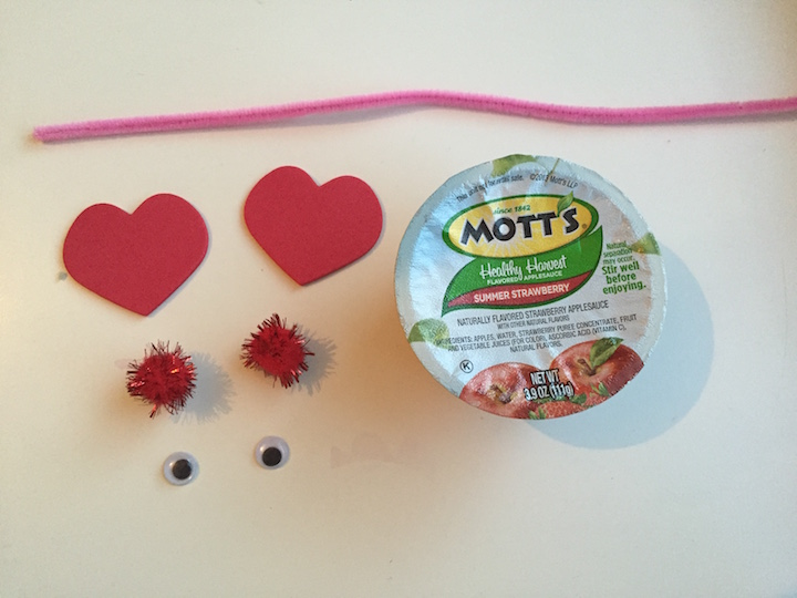 love bug fruit cups materials