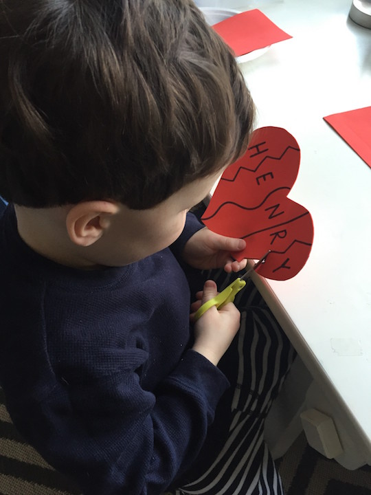 heart puzzle cutting kidlist
