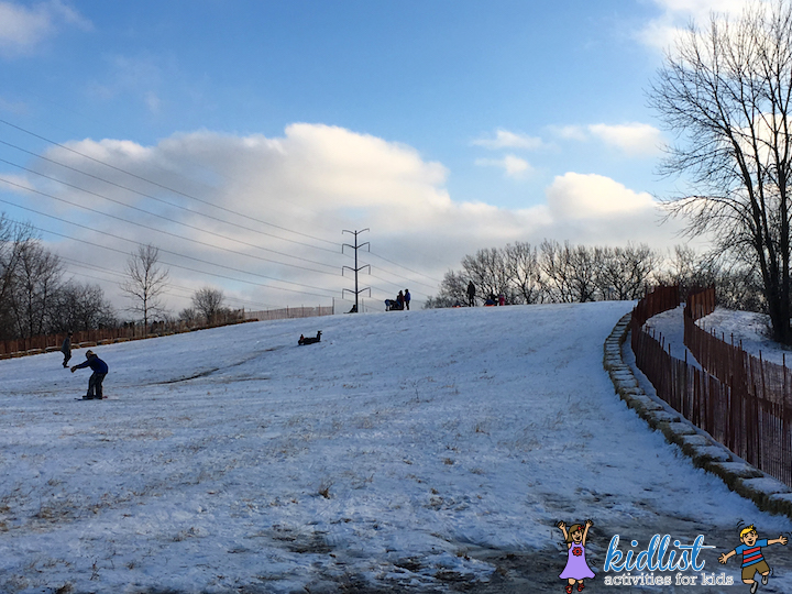 Westchester Woods Sledding Hill