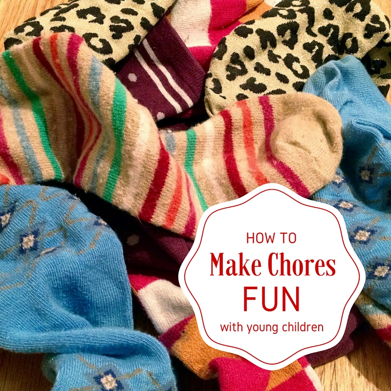 how to make chores fun with young kids