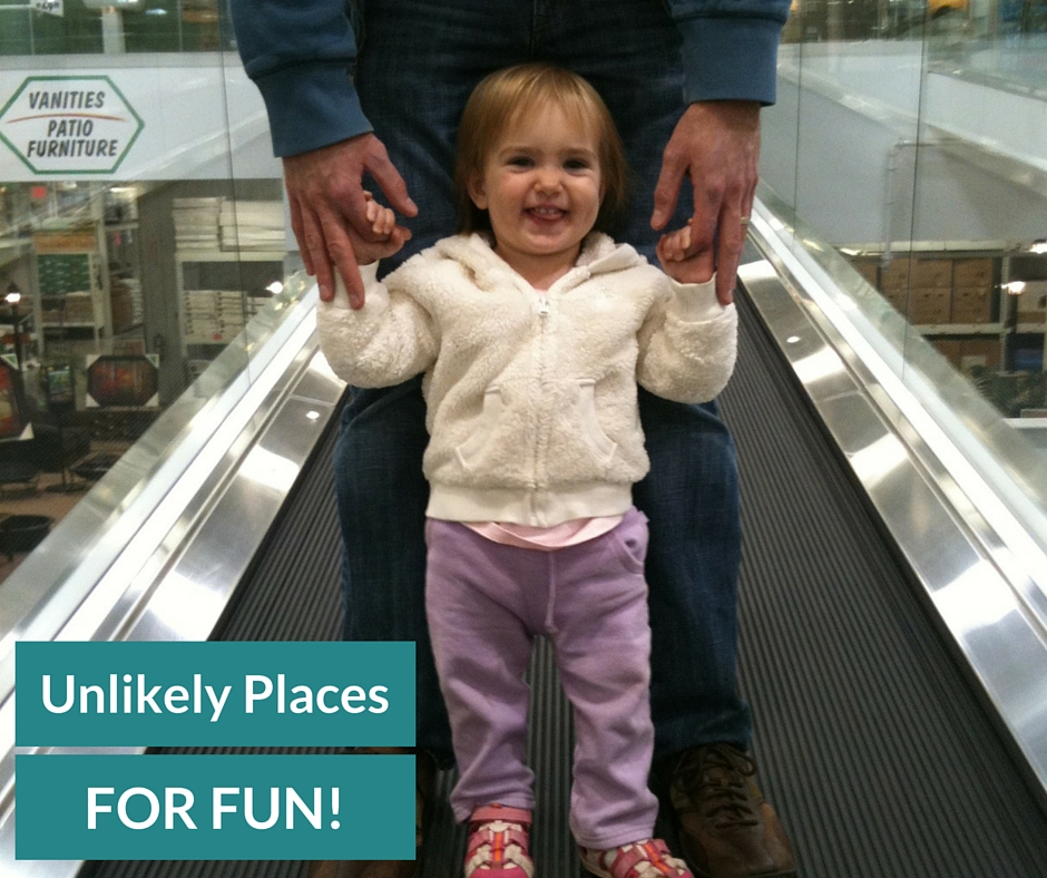 unlikely places for fun