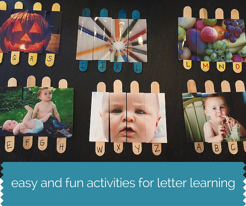 easy fun ways to learn letters