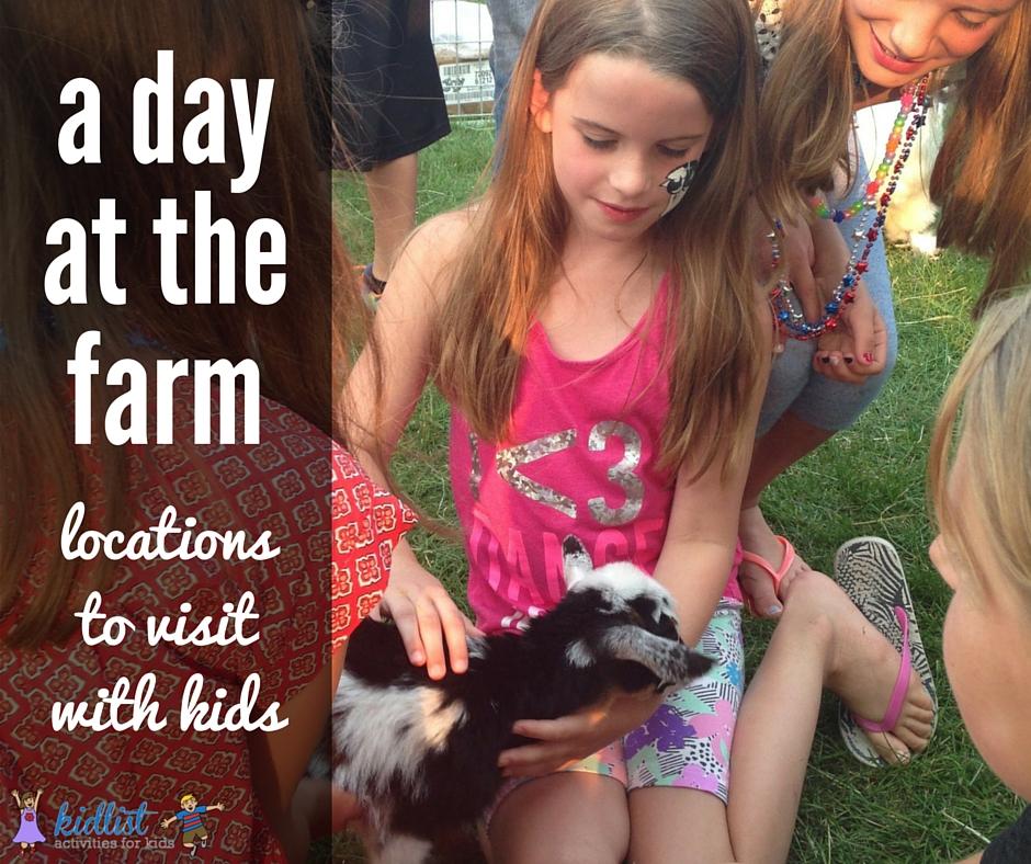 visit a farm
