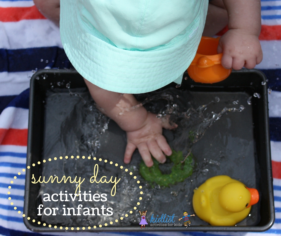 sunny day activities for infants
