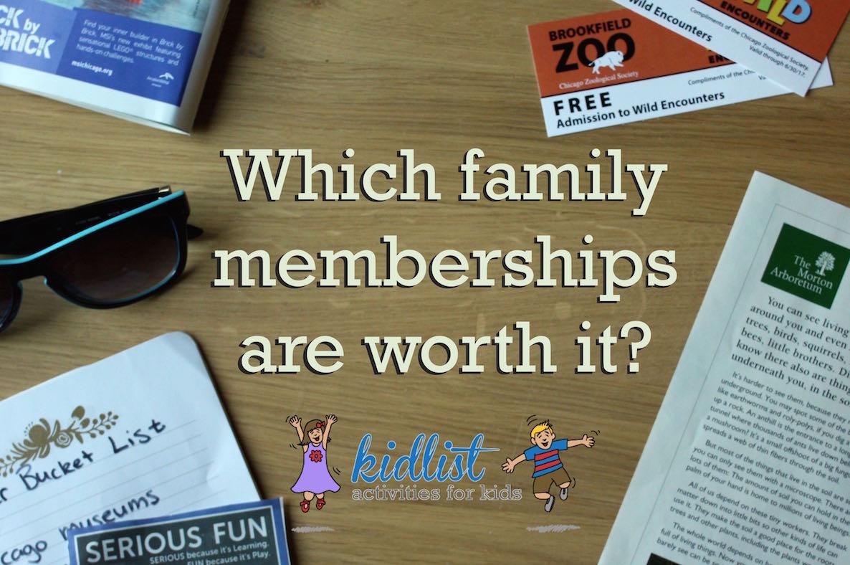 museum and zoo memberships