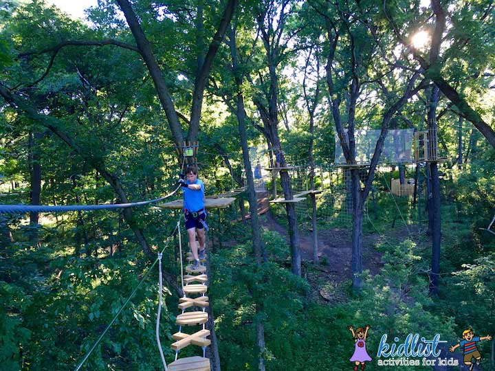 Go Ape Chicago Zip Line And Treetop Adventure