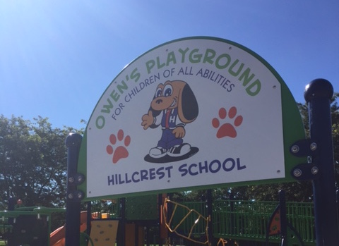 owens playground sign