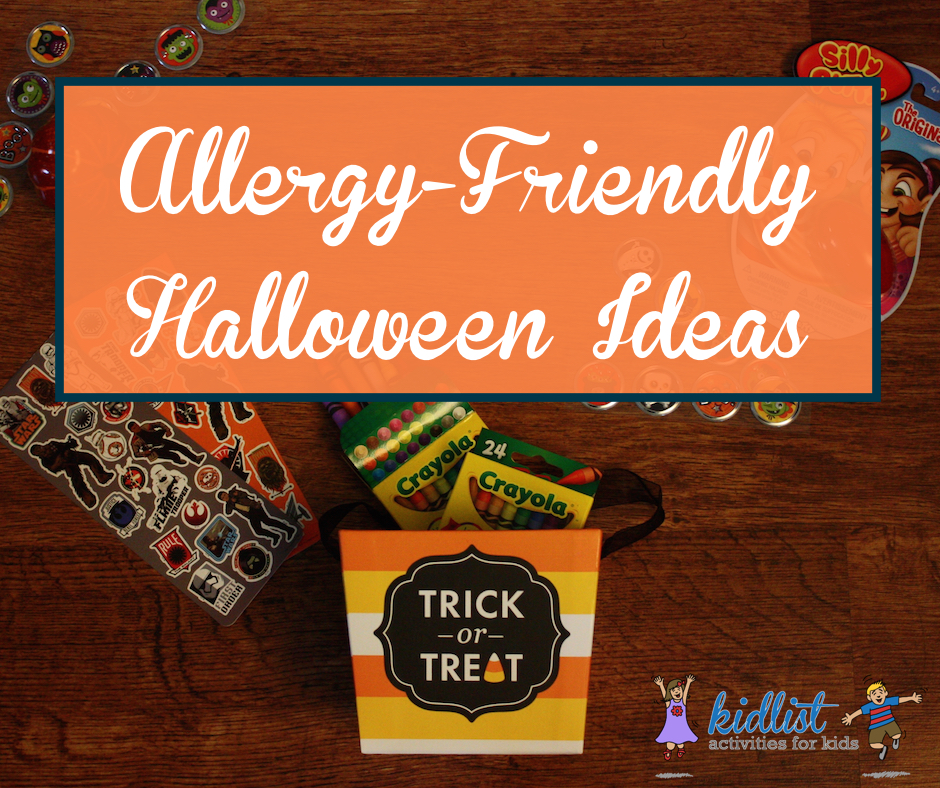 Allergy-friendly Halloween ideas