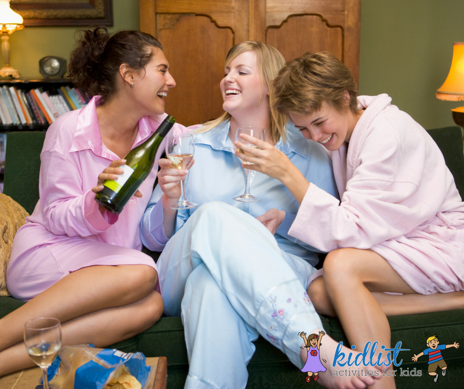 8 ideas for a perfect moms night in kidlist activities for kids