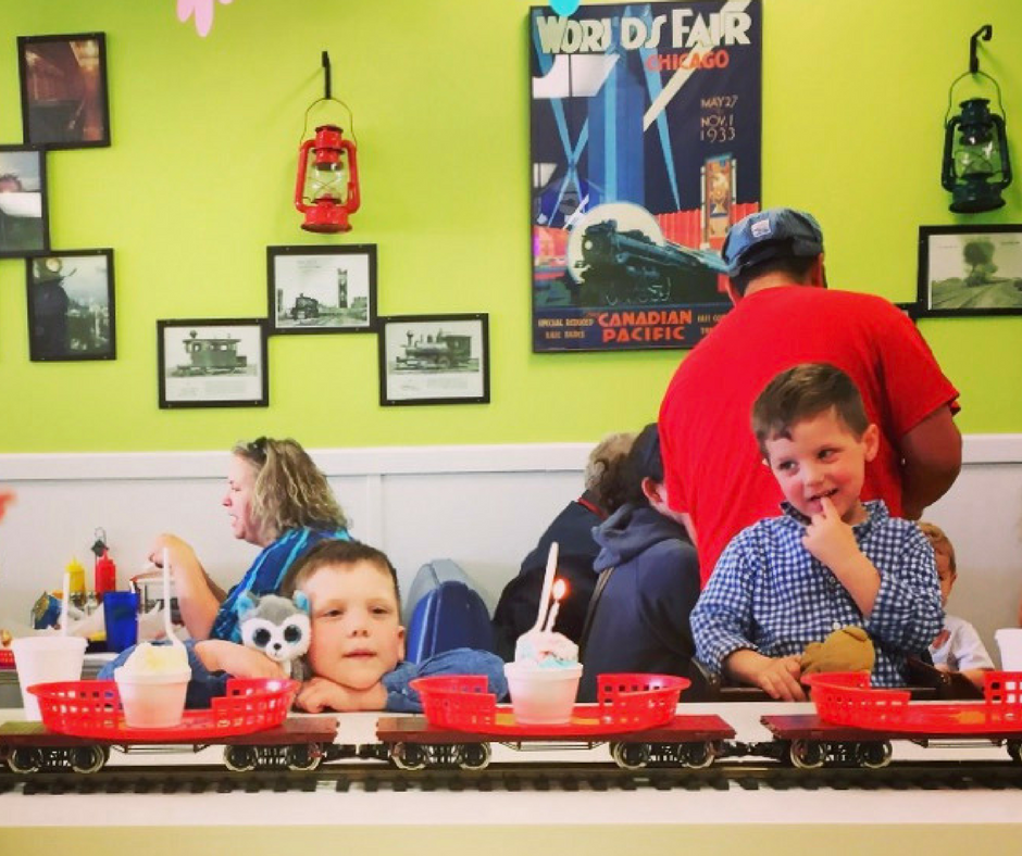 Train Restaurants For Kids In The Western Suburbs