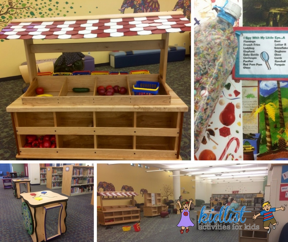 Wheaton Library children's area