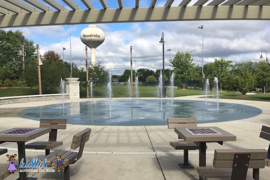 Hobson Corner Splash Pad, Woodridge
