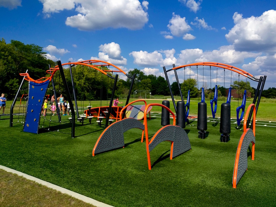 Summerlakes Park, Warrenville: American Ninja Warrior Park