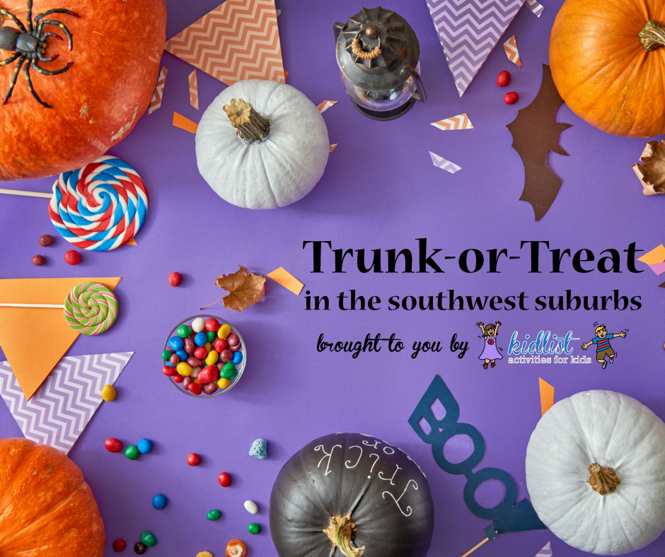 trunk or treat in the southwest suburbs