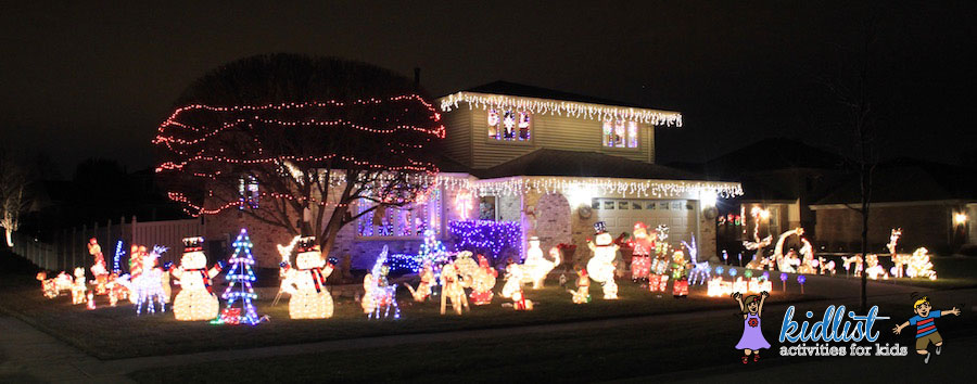 if you are driving through the neighborhood this is a nice one to pass by to get in the holiday spirit