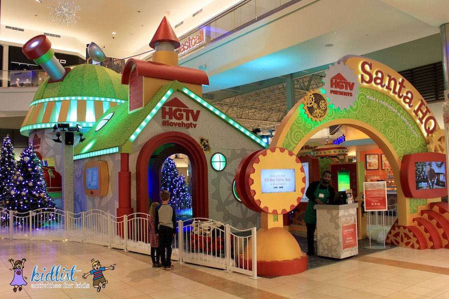 "Image result for Fashion Outlets of Chicago ""Santa HQ"""