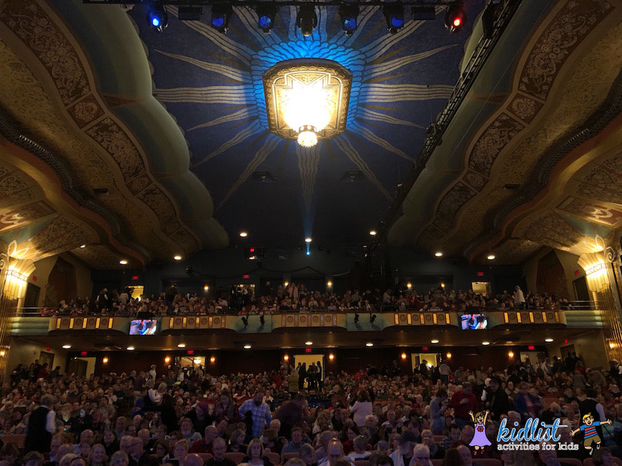paramount theatre elf the musical review for families