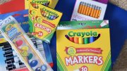 school supply drives and donations