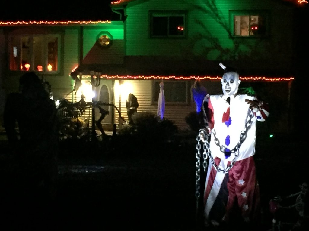 Decorated Halloween House in Monee