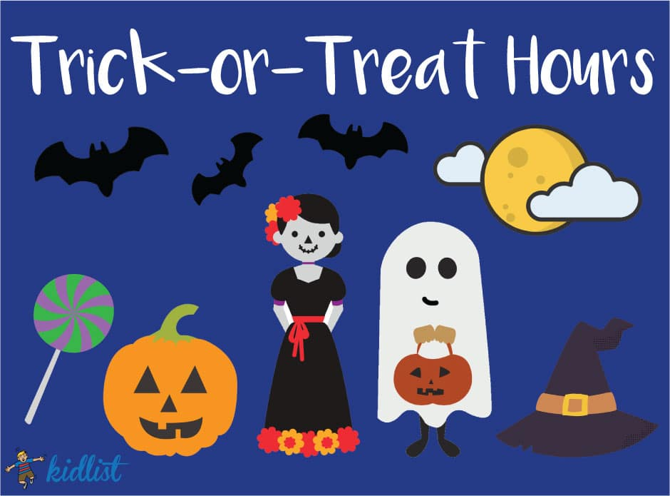 Halloween Trick Or Treat Hours 2020 Elwood Il 2019 Trick or Treat Hours for the Chicago Suburbs