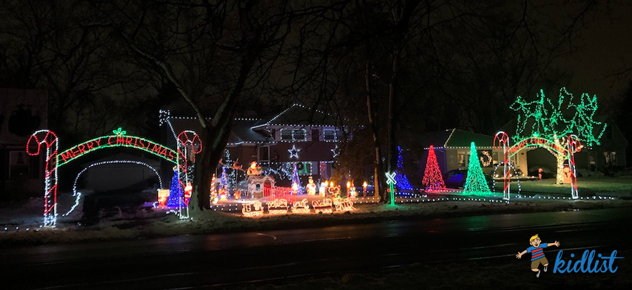 Drive Through Christmas Lights Near Me.2018 Best Christmas Lights In The Western Suburbs