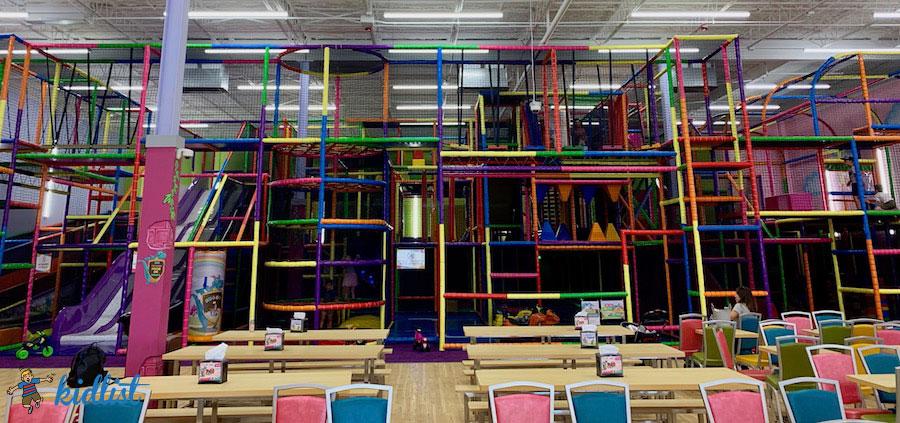 New Kids Empire Indoor Playground In Villa Park