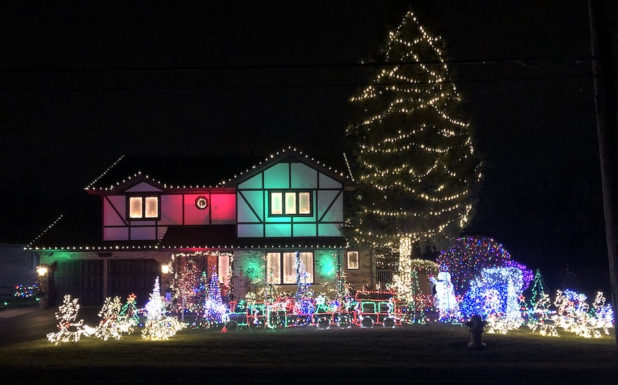 Park Ridge Christmas House 2020 2019 Best Christmas Lights in the West and Southwest Suburbs