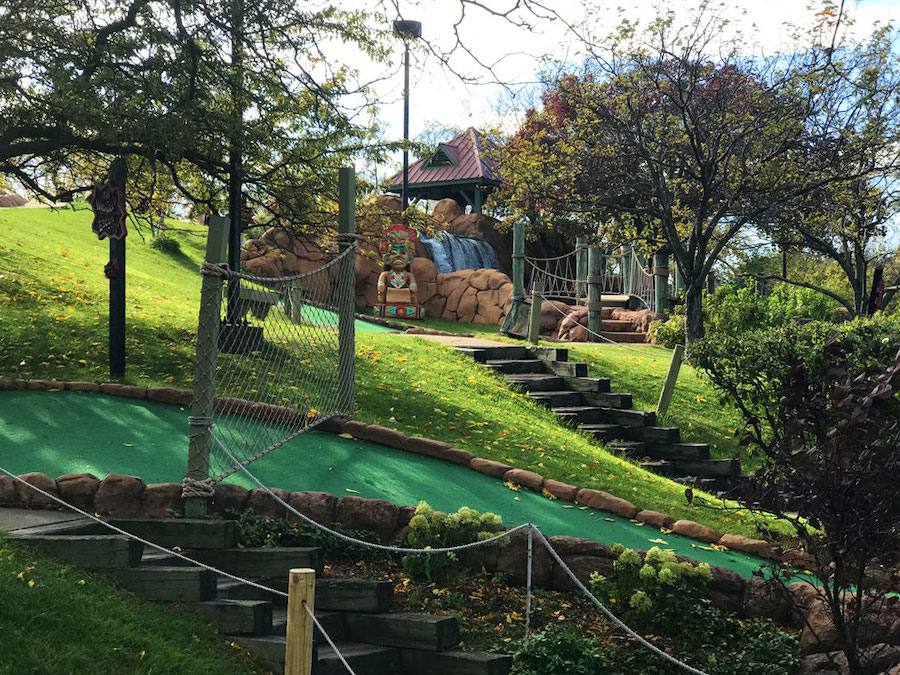 Local Mini Golf Courses With Waterfalls Glow In The Dark And More